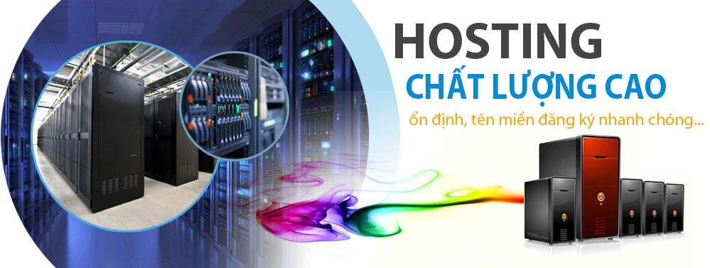 Hosting, máy chủ chất lượng cao