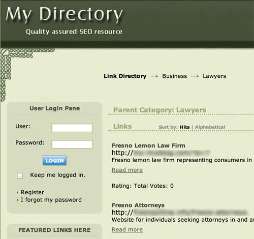 Liên kết từ các trang web Directory có được coi là tự nhiên?