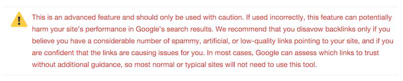Hướng dẫn sử dụng công cụ chối bỏ liên kết của Google